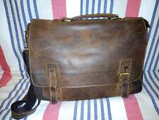 Kattee Nubuck Leather Briefcase