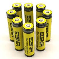 8 PCS ETSAIR 9900Mah 3.7V Li-Ion Battery 18650 Rechargeable Flashlight Battery