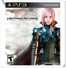 PS3 LIGHTNING RETURNS FINAL FANTASY XIII ENGLISH Square Enix RPG