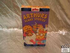 Arthur's Scary Stories VHS Animated