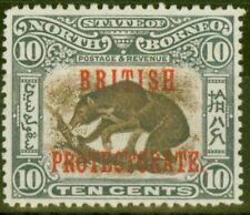 North Borneo 1901 10c SG134 Fine Mtd Mint