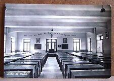 Collegio Salesiano Treviglio (Bergamo) - aula di studio [grande, b/n, viaggiata]