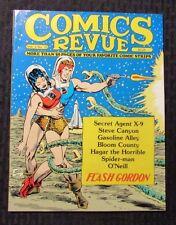 1985 COMICS REVUE Magazine v.1 #13 VF Flash Gordon Steve Canyon Spider-Man