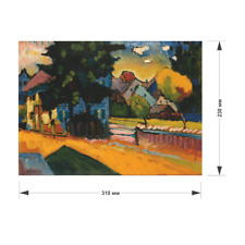 """wooden Pieces puzzle Jigsaw """"View of Murnau"""" gift, Hermitage, Kandinsky 200 pcs"""