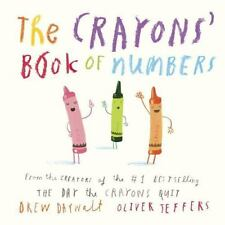 The Crayons' Book of Numbers by Drew Daywalt (2016, Board Book)