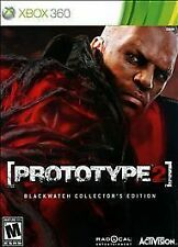 Prototype 2 -- Blackwatch Collector's Edition (Microsoft Xbox 360, 2012)
