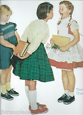 """Norman Rockwell ----""""The Check-Up"""", Full Color, No Boarders, Art Print---"""