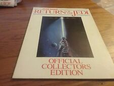 STAR WARS  RETURN OF THE JEDI  1983   MOVIE PROGRAM   OFFICIAL COLLECTORS ITEM
