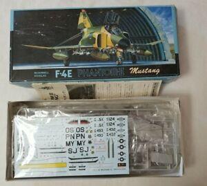 1986 FUJIMI #G-5 F-4E PHANTOM II MUSTANG - 1/72 SCALE KIT - WORN BOX