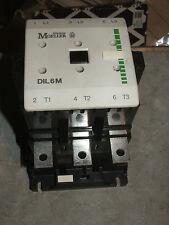 Klockner Moeller DIL6M Contactor 90KW 125HP 415v Coil Star/Delta Softstart etc