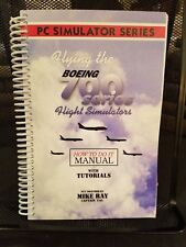 Flying The Boeing 700 Series Flight Simulator Procedures Manual How-To Like New