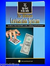 LEVITATION SYSTEM BOOK 25 Floating Magic Tricks Thread BOOKLET ONLY Magician