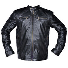 Men Real Leather Jacket Causal Fashion Leather Soft Premium Grade Leather Jacket