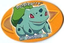 POGS POKEMON YAPS FRANCAIS 01 BULBIZARRE (Bulbasaur)