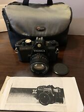 Vintage Yashica TL Electro X, ITS, 1:1.4 Lens, 50mm. W/case. Made in Japan