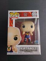 Funko Pop #55 WWE Kurt Angle Vinyl Collectible Figure Inbox TNA NJPW Olympics