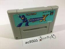 ac9503 Rockman X SNES Super Famicom Japan J4U
