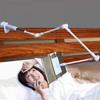 """Bed Tablet Stand 4""""-14"""" Arm Universal Rotating Desktop Table Holder Adjustable"""
