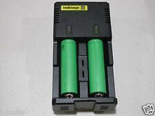 NITECORE i2 Intellicharger Charger w/ 2 Sony 18650 VTC3 30a 1600mah batteries