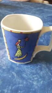 Rosenthal Kaffeebecher Design Dorothy Hafner Flash Love Story 1  Stück