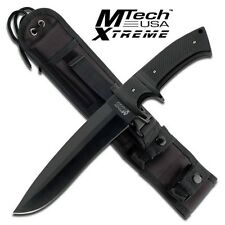 Mtech Xtreme Knives Fixed Blade MX 8090BK Full Tang  Molle Sheath