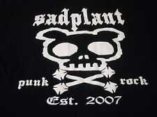 SADPLANT RARE PUNK T SHIRT SIZE ADULT MEDIUM LOOK