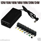 New 96W Universal Power Charger Charging AC Adapter EU Plug For Laptop Notebook
