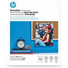 HP Everyday Glossy Photo Paper | 50 Sheets | Letter | 8.5 x 11 in | Q8723A