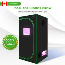 Grow Tent 3' x 3' High-Reflective 600D Hydroponics Plant Growing Lumo-X