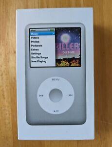 Apple iPod Calssic 7th Generation 160GB Silver Model A1238 PC293LL/A