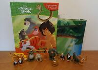 Disney Jungle Book My Busy Book + 12 Character Figurines & Playmat