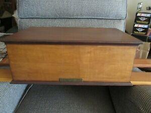 Ethan Allen dresser top mini-storage chest/jewelry box