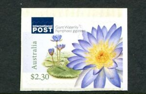 2017 Australian Water Plants - $2.30 International Booklet Stamp