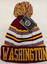 Washington Redskins  Team Color Sideline Replica Pom Pom Knit Beanie Hat