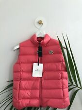 MONCLER GHANY GILET JACKET PINK BNWT SIZE 1