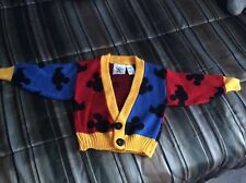 Vintage Mickey & Co By JG Hook Mickey Mouse Sweater Size 18mos unisex 80's 90's
