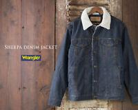 Men's Wrangler Western Style Rustic Sherpa Lined Jacket - 74256RT