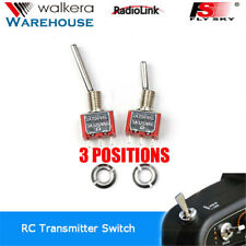 Walkera Devo Radio Transmitter 2x 3 Pos Switches DEVO 10 DEVO7 AT9 WFLY 9 Flysky