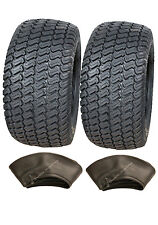 2 - 18x9.50-8 tyres & tubes 4ply turf,grass,lawnmower,buggy,cart,lawn 18 950 8