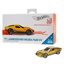 Hot Wheels id '71 Lamborghini Miura P400 SV {Factory Fresh}, Multicolor