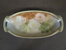 VINTAGE R.S. GERMANY ORCELAIN CELERY TRAY RELISH DISH