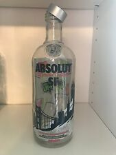 Absolut Vodka SF San Francisco Empty - No alcohol