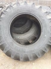 Two 184x30 12 Ply R 1 Tube Type Farm Tractor Tires Fit Ford Deere