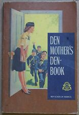1967 Den Mother's Den Book Boy Scouts of America BSA Softcover