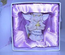 "NWOT LITTLE BLESSINGS  KATHLEEN MORRIS ""ANGEL OF comfort"" figurine ORIG. BOX"