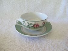 WEDGWOOD CHINA ENGLISH COTTAGE PATTERN CUP AND SAUCER -  2 AVAILABLE - NEW