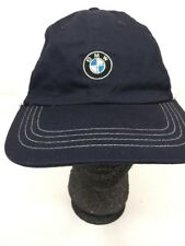 BMW USA Olympic Golf Hat Adjustable White Blue