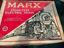 Vintage Louis Marx Electric Plastic Train Set Model# 50232 w/Box
