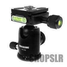 Horusbennu Ball head TM-CX6 ballhead + Quick release plate for DSLR SLR Canon