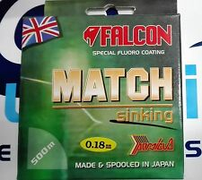 FALCON MATCH SPECIAL FLUORO COATING SINKING 0.18mm 4.700kg 500m MADE IN JAPAN